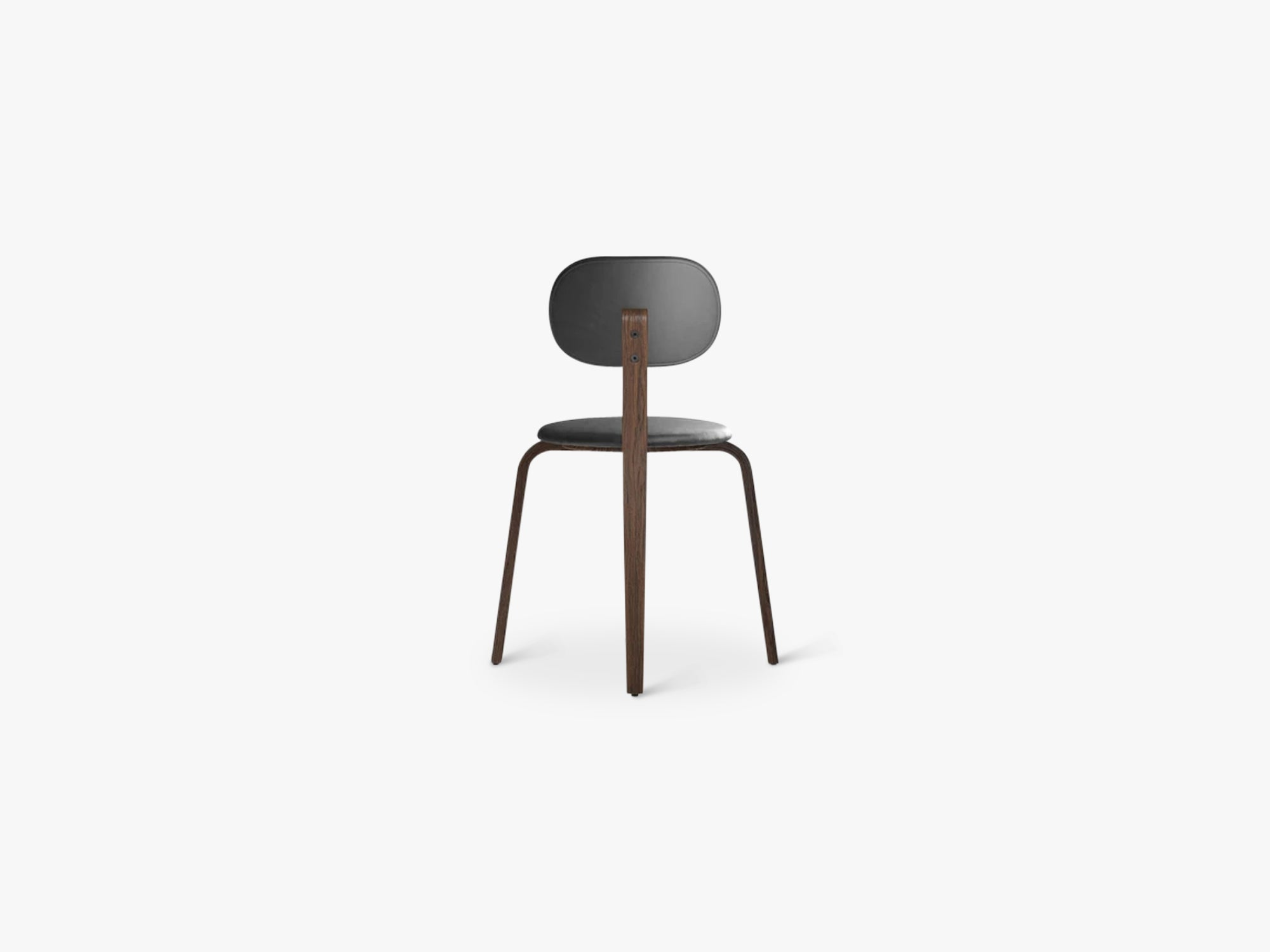 Afteroom Plywood Chair, Dark Stained Oak/Dakar 0842 fra Menu