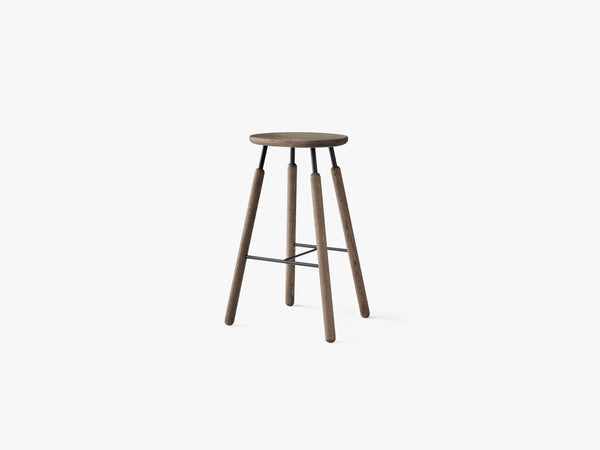 Bar stool - NA8 - Smoked oiled oak fra &tradition