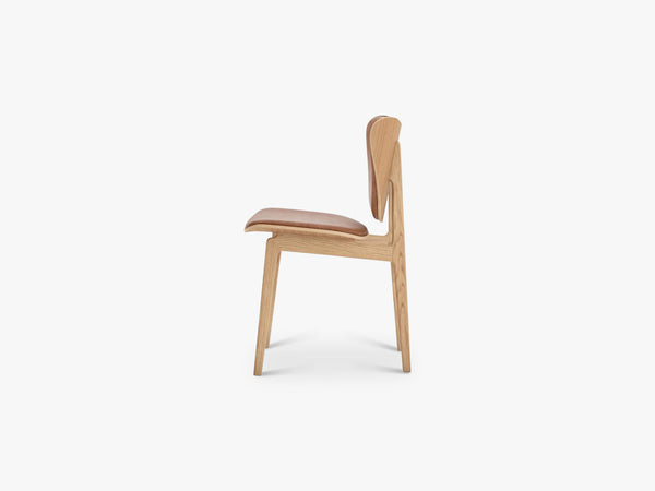Elephant Chair, Oak/Camel Leather fra NORR11