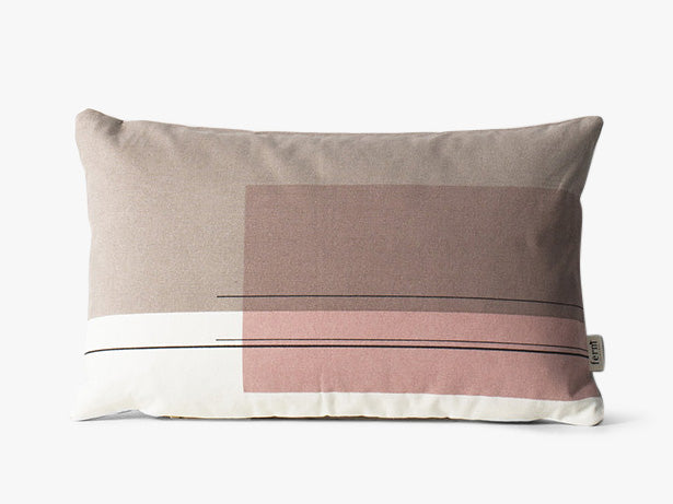Colour Block Cushion - S - #4 fra Ferm Living