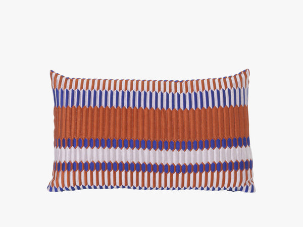 Pleat Rust, Salon Cushion 40x25 fra Ferm Living