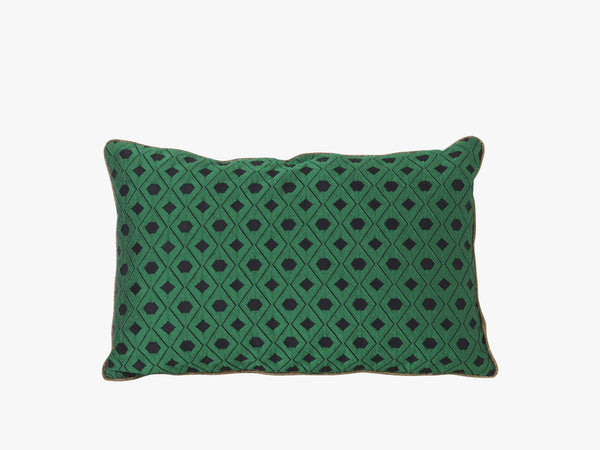 Mosaic Green, Salon Cushion 40x25 fra Ferm Living