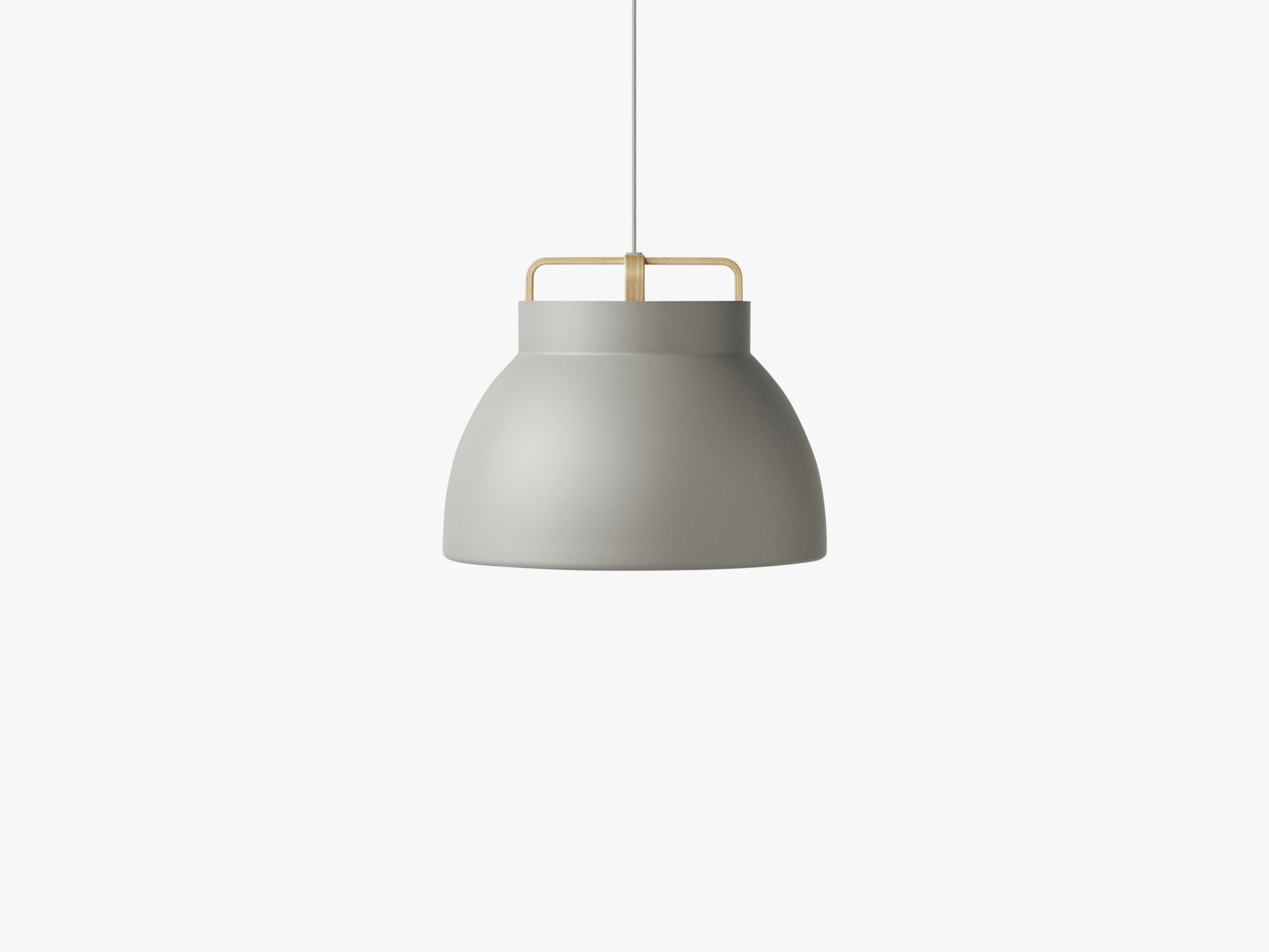 Voyage Pendant M3, Ø46 Grey/Oak fra MILLION