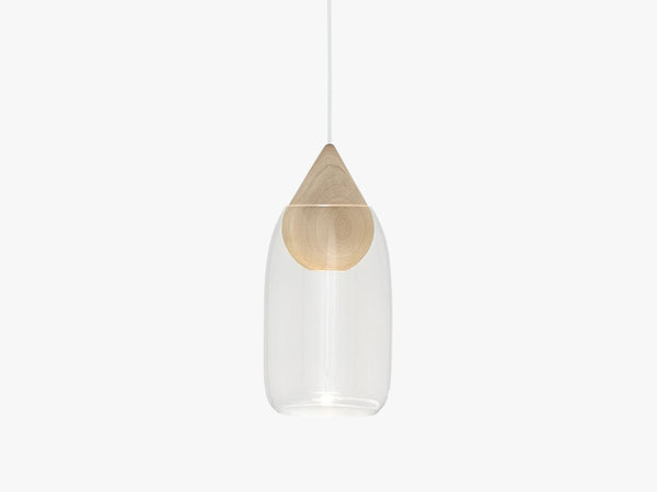 Liuku Glass Shade, Transparent fra Mater