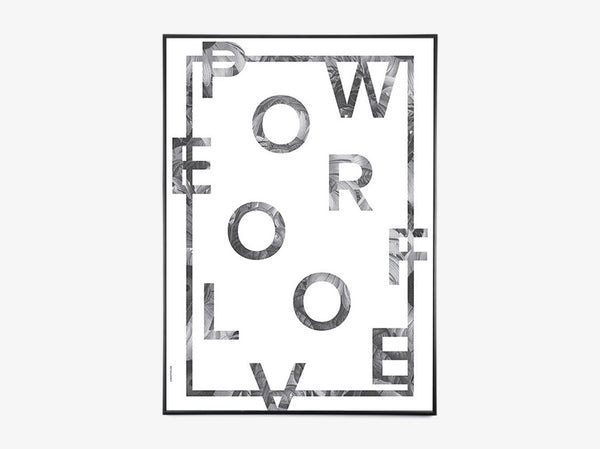 Power of Love - White fra I Love My Type