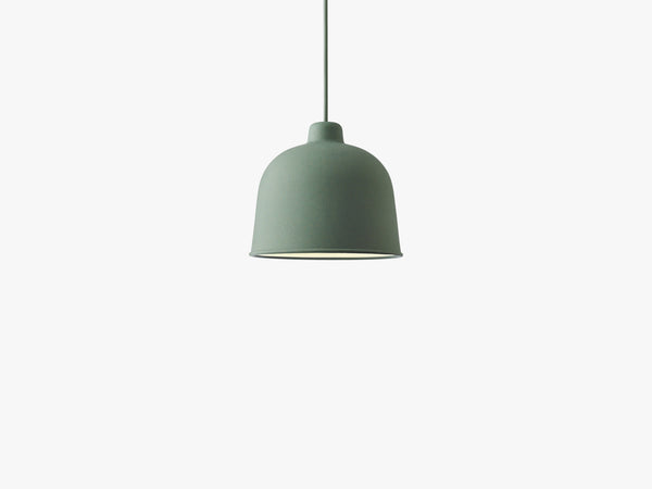 Grain Pendant Lamp, Dusty Green fra Muuto