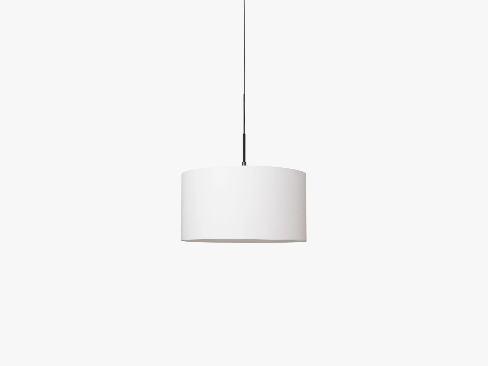 Gravity Pendant - Large, White fra GUBI