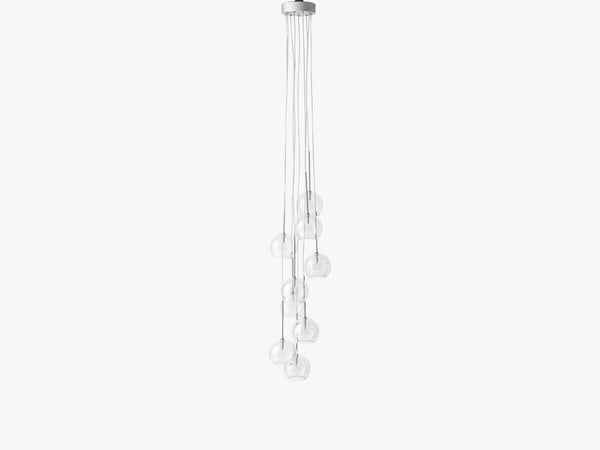 Ice Chandelier 9 - SR6, Clear fra &tradition