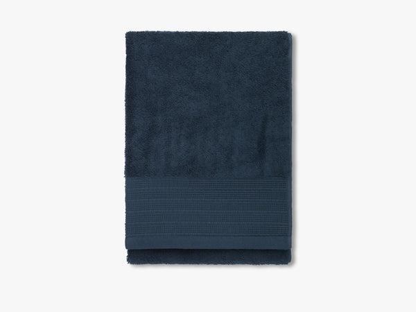 Egyptian towel, petrol blue fra Elvang