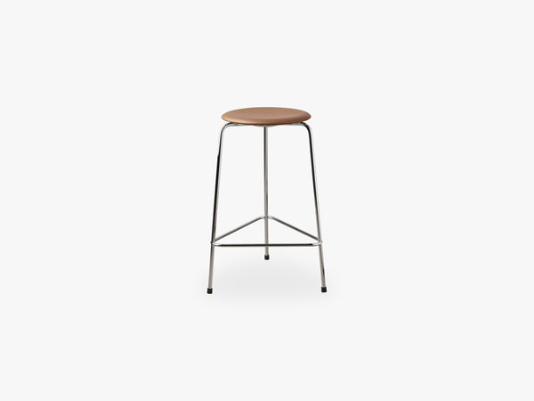 High Dot™, Leather/chrome fra Fritz Hansen