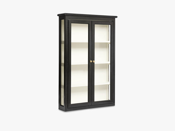 CLASSIC wall cabinet, black fra Nordal
