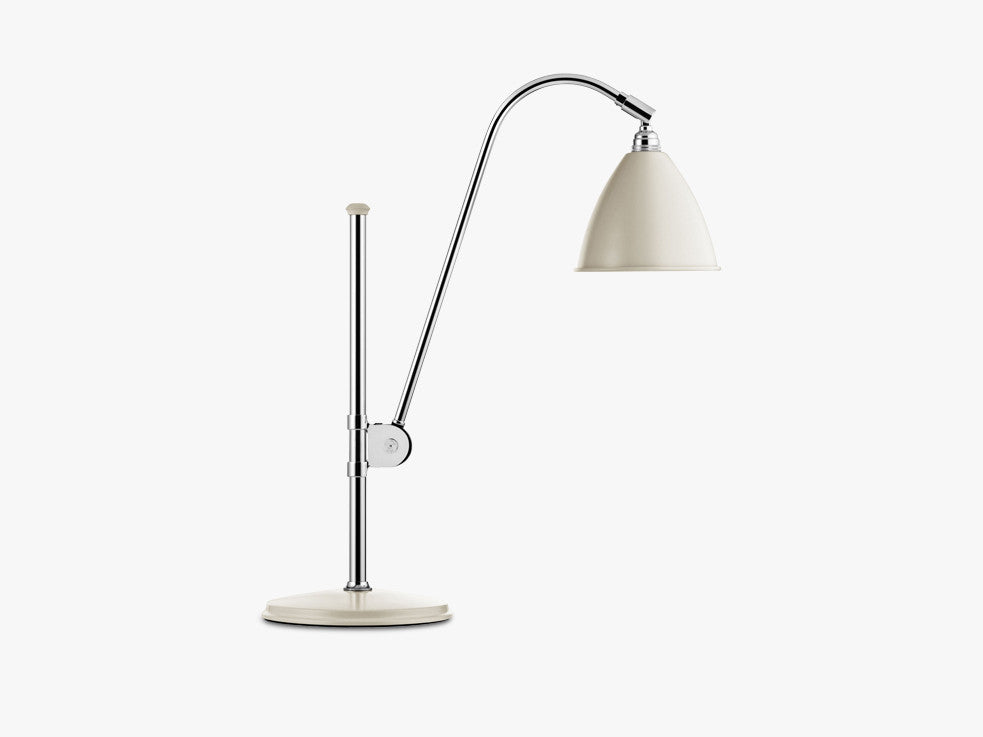 Bestlite BL1 Table Lamp - Ø16 - Crome Base, Off-White fra GUBI