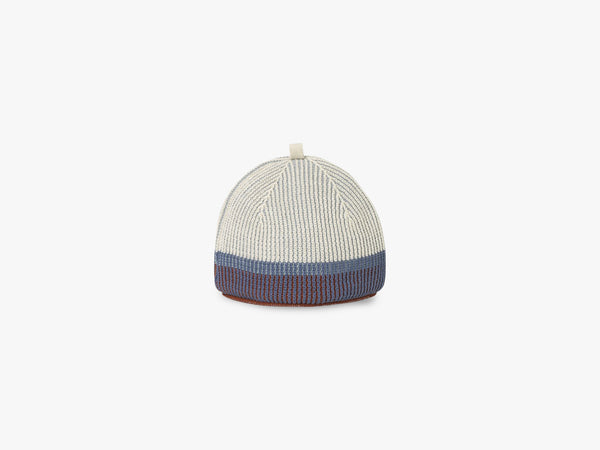 Akin Knitted Tea Cozy, Dull Blue fra Ferm Living