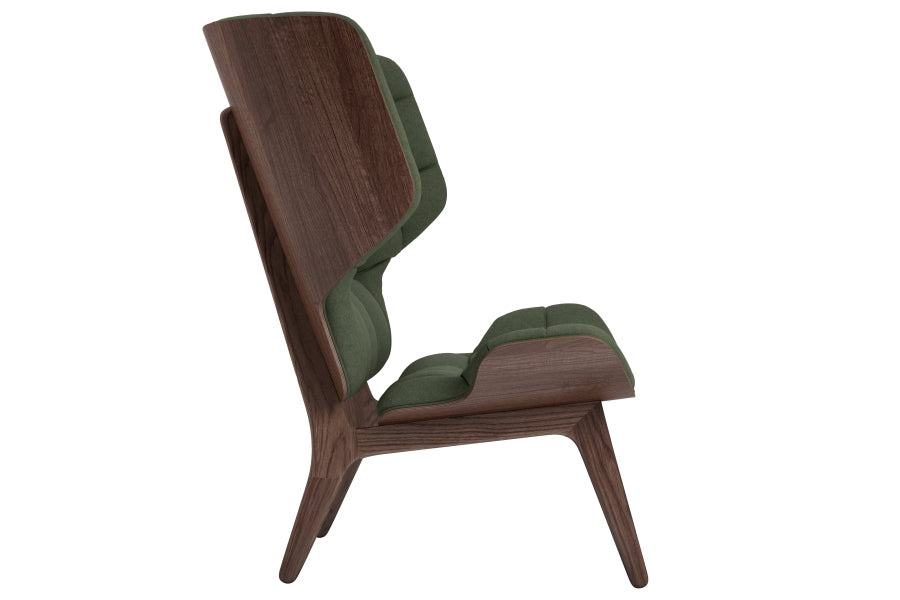 Mammoth Chair, Dark Stained/Forest Green fra NORR11
