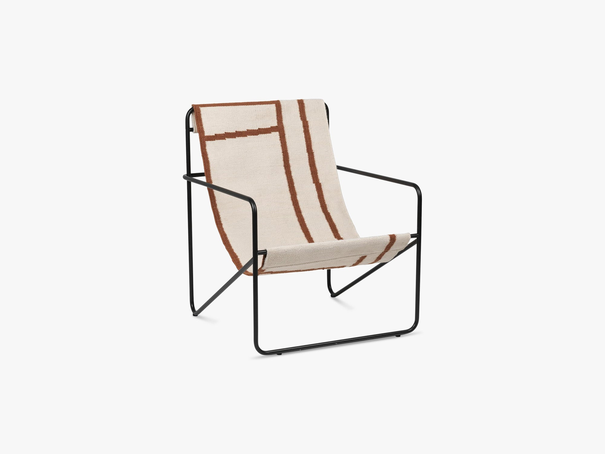 Desert Chair - Black/Shape fra Ferm Living