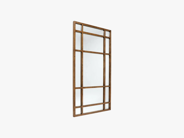 SPIRIT wall mirror, col birch wood fra Nordal