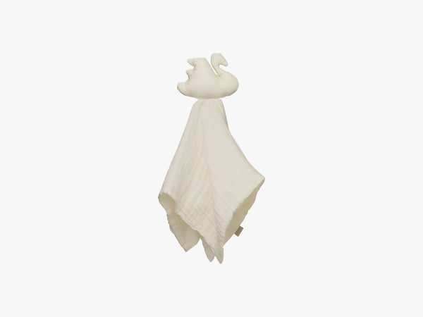 Cuddle Cloth Muslin Swan - Light Sand fra Cam Cam Copenhagen