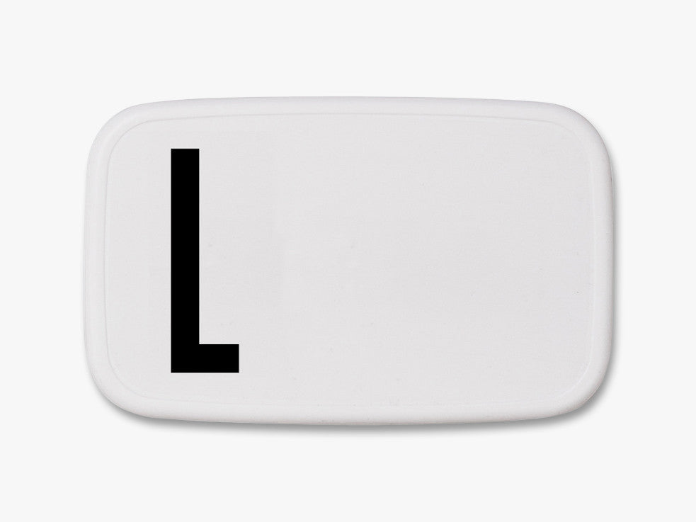 L - Personal Lunch Box fra Design Letters