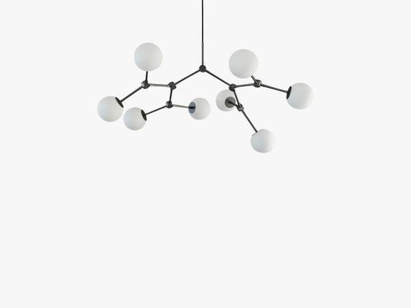 Drop Chandelier Bulp, Mini, Grey fra 101 Copenhagen