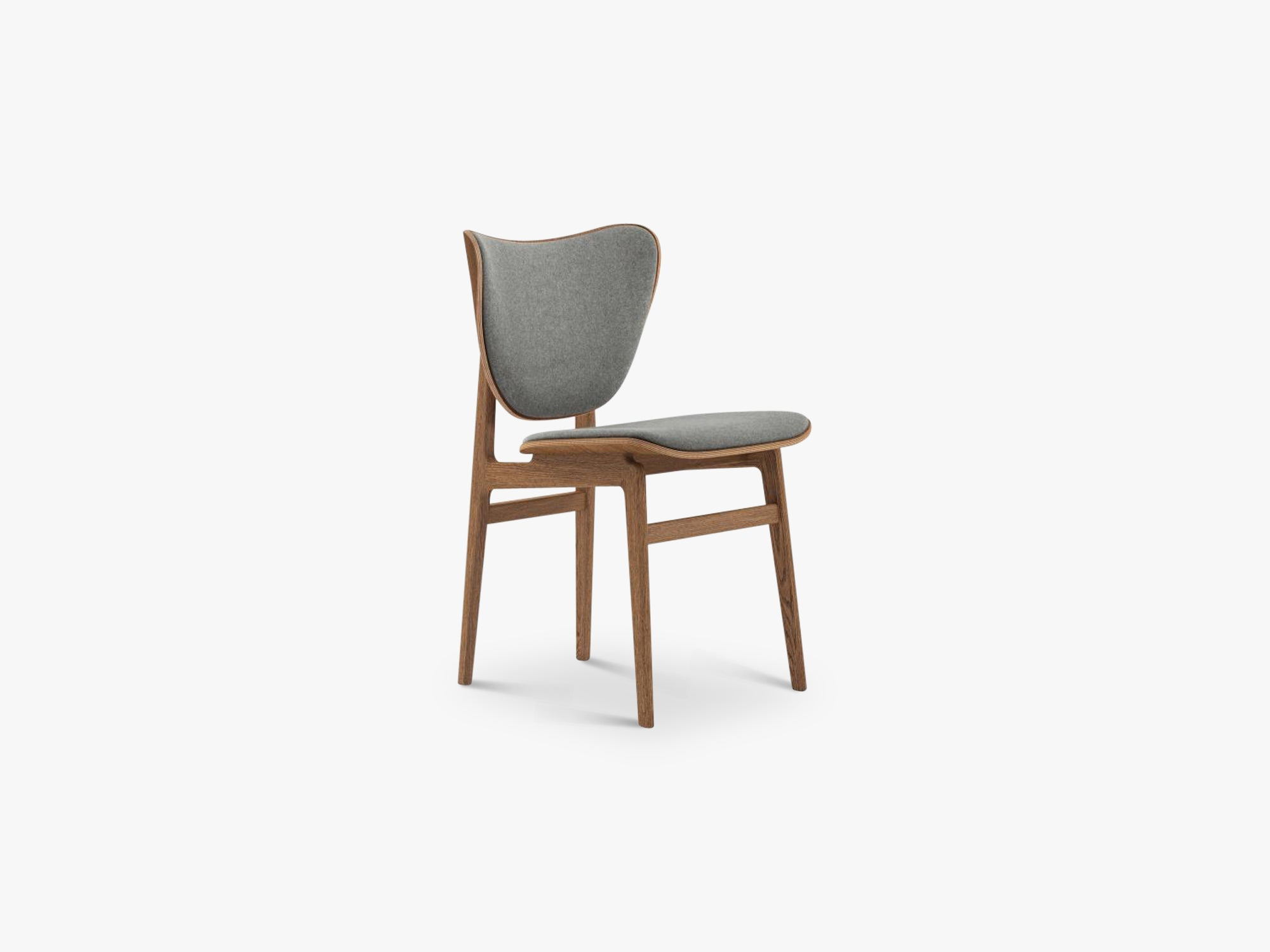 Elephant Chair, Brown/Light Grey Wool fra NORR11