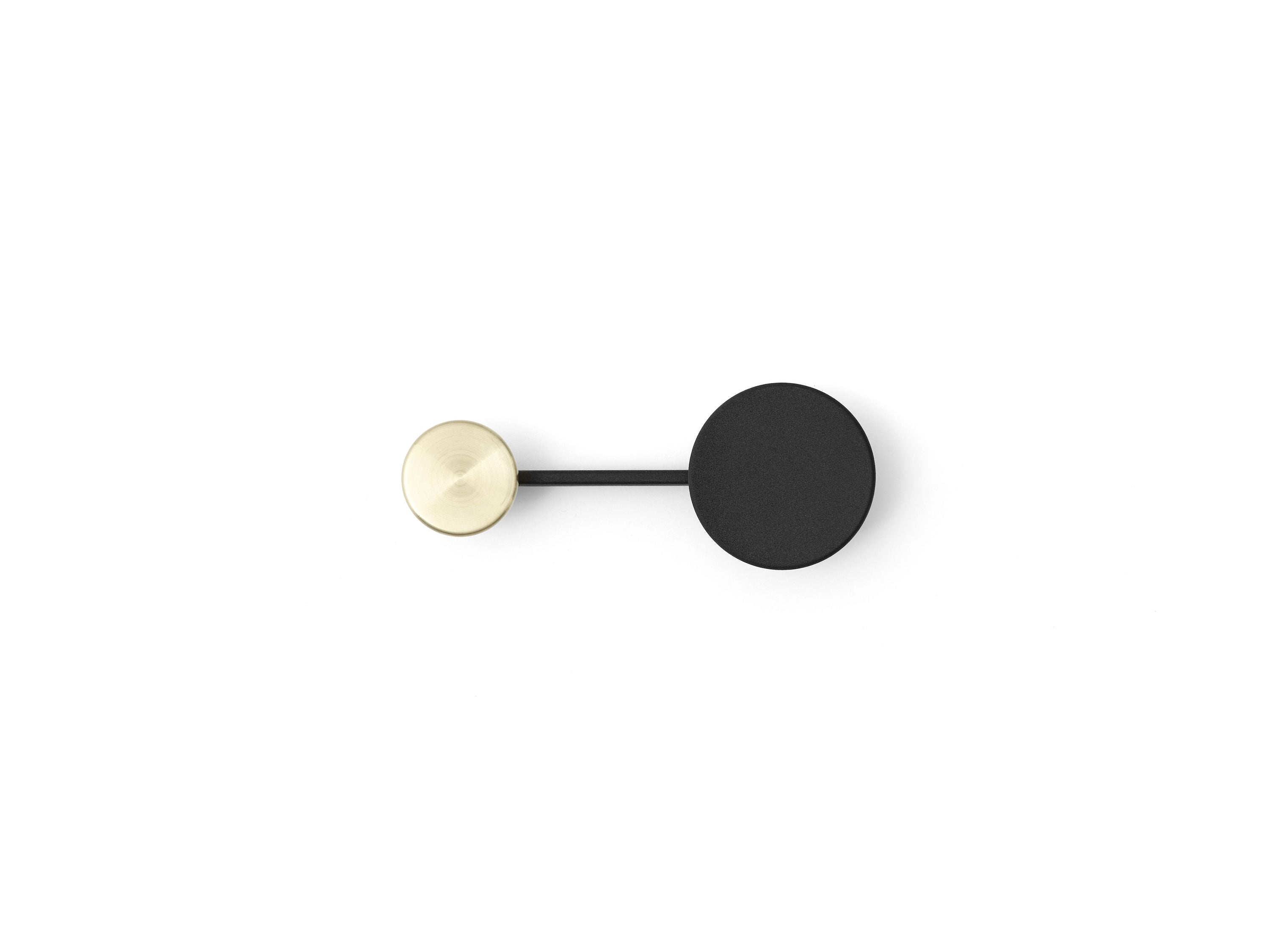 Afteroom Coat Hanger Small, Brass fra Menu