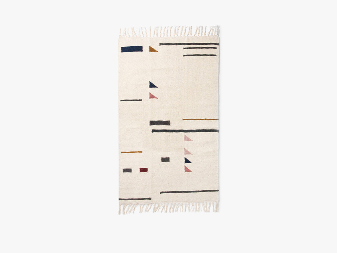 Kelim Rug - Colour Triangles - Small fra Ferm Living