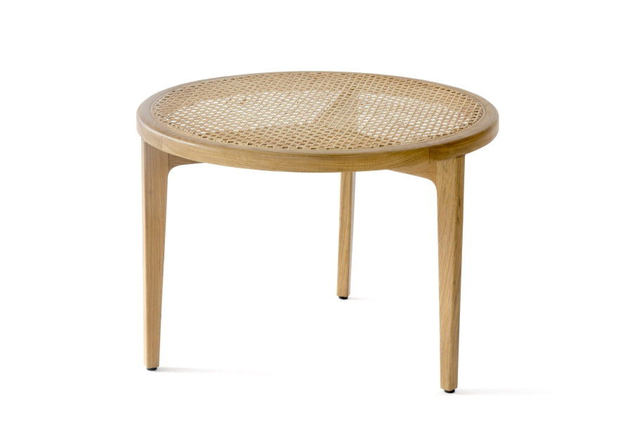 Le Roi Coffee Table, French Rattan fra NORR11