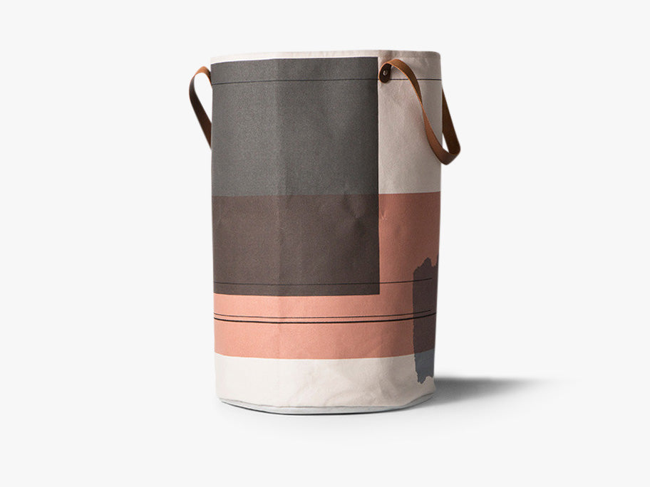 Colour Block Laundry Basket fra Ferm Living