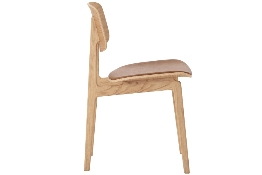NY11 Chair, Natural/Camel fra NORR11