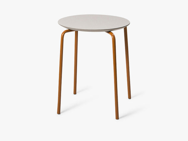Herman Stool - Light Grey/Ochre fra Ferm Living