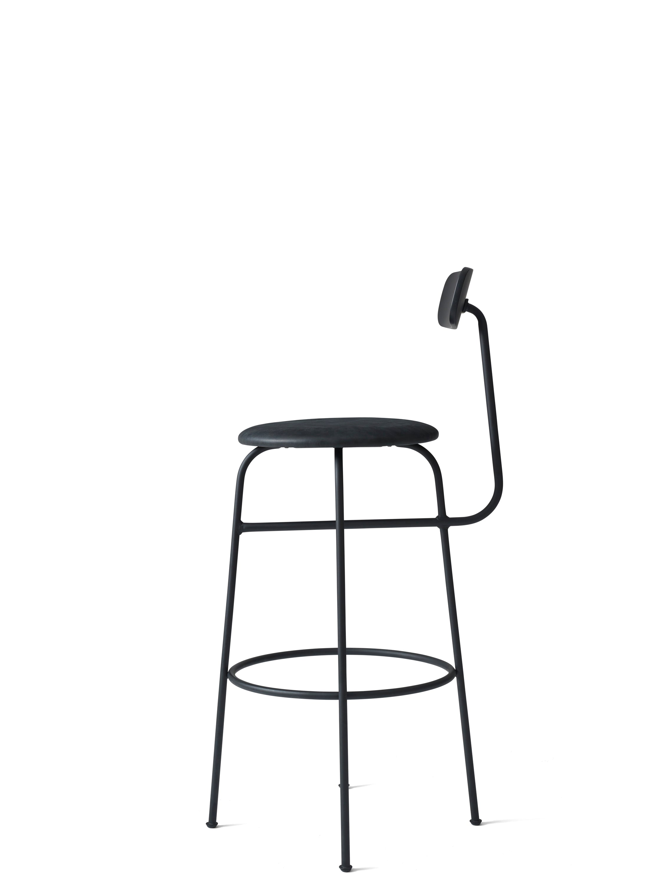 Afteroom Bar Chair, Black/Black fra Menu