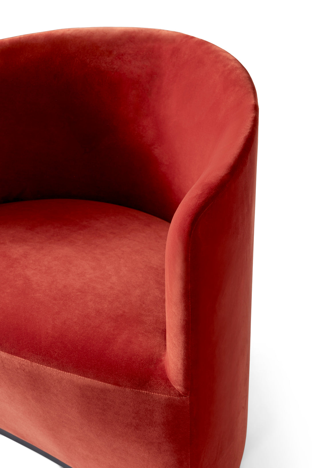 Tearoom - Lounge Chair, City Velvet CA7832/062 fra Menu