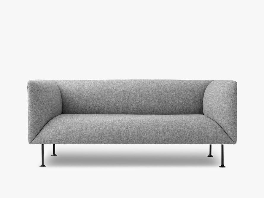 Godot, 2 Seater, Grey Melange - Sofa fra Menu
