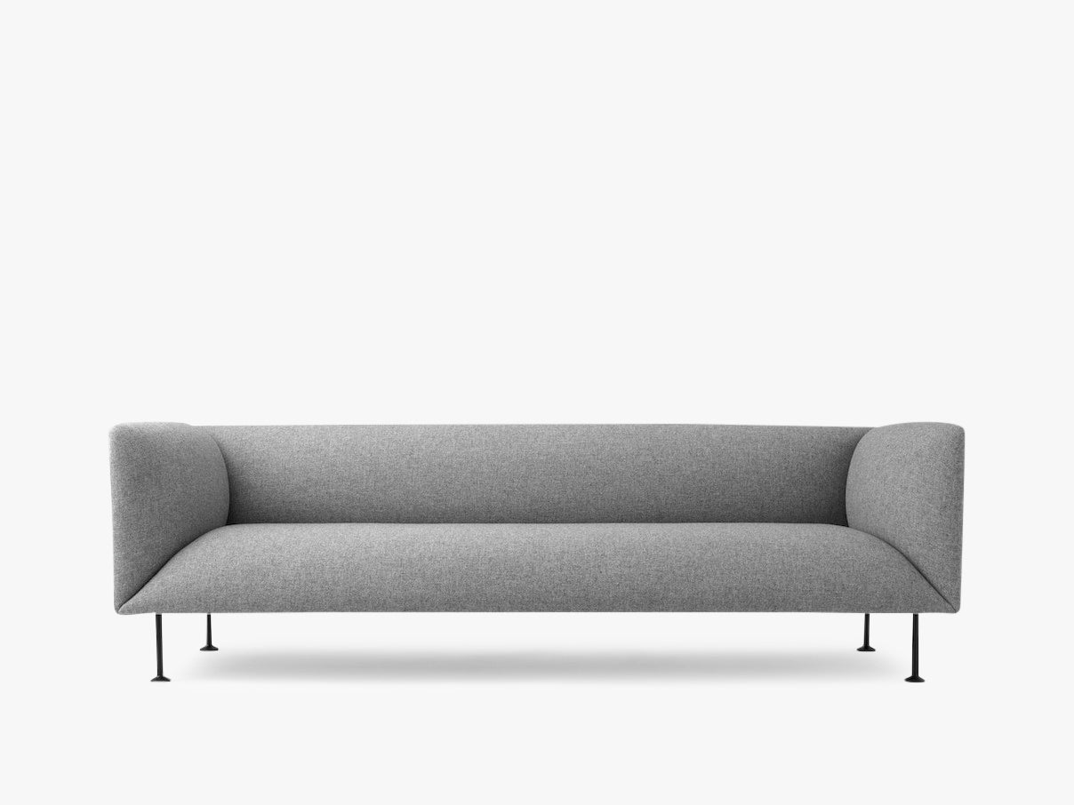 Godot, 3 Seater, Grey Melange - Sofa fra Menu
