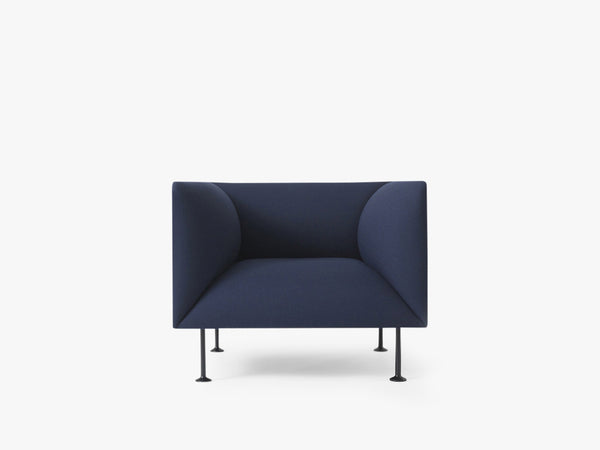 Godot, 1 Seater, Royal Blue - Sofa/stol fra Menu
