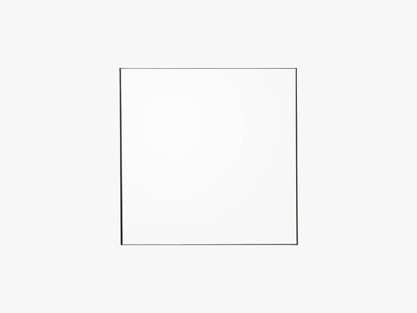 QUADRO mirror clear/black, one size fra AYTM