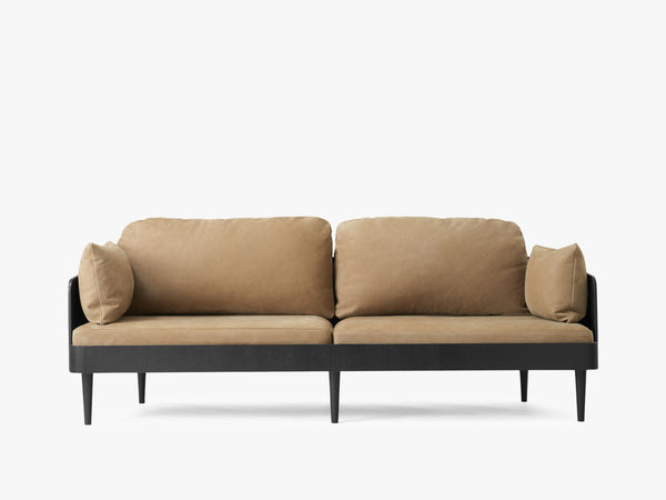 Septembre Sofa, Black Ash/Lava fra Menu