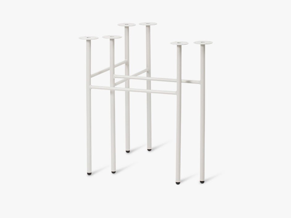 Mingle Trestles - Light Grey fra Ferm Living