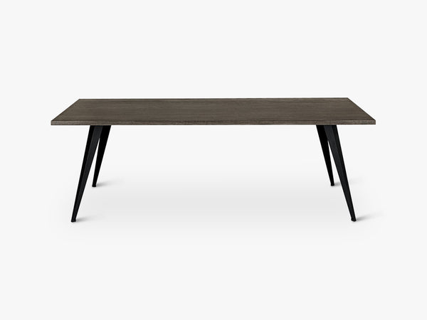 Mater Dining Table L220, Sirka Grey Stained Beech wood fra Mater