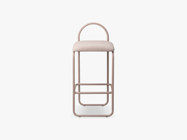 ANGUI bar chair low, rose fra AYTM