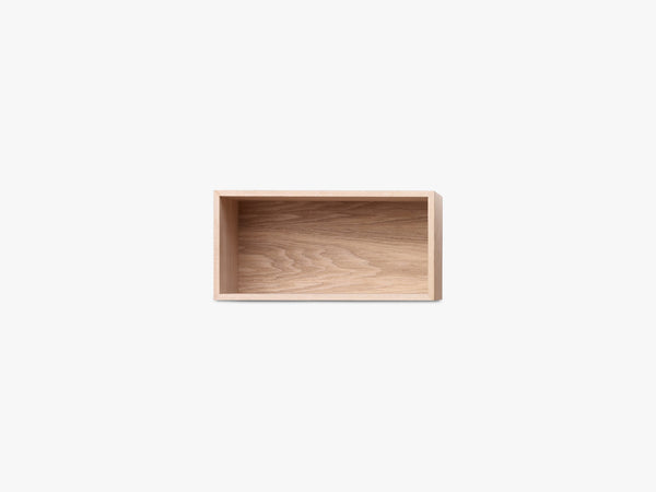 Mini Stacked Storage System, Small - Oak fra Muuto