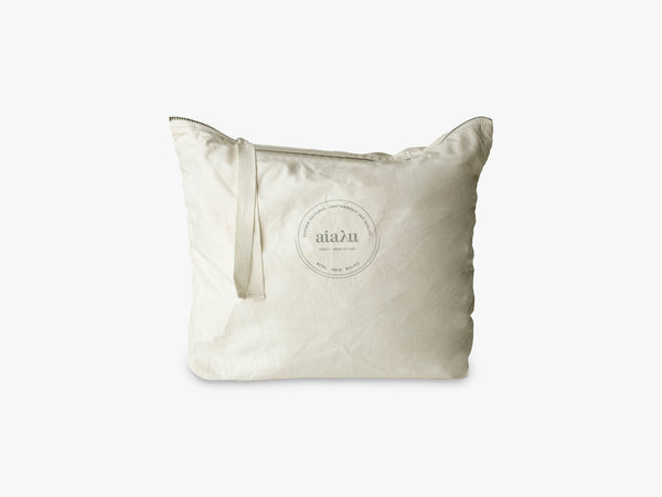 Pouch Heavy Poplin, Off White fra Aiayu