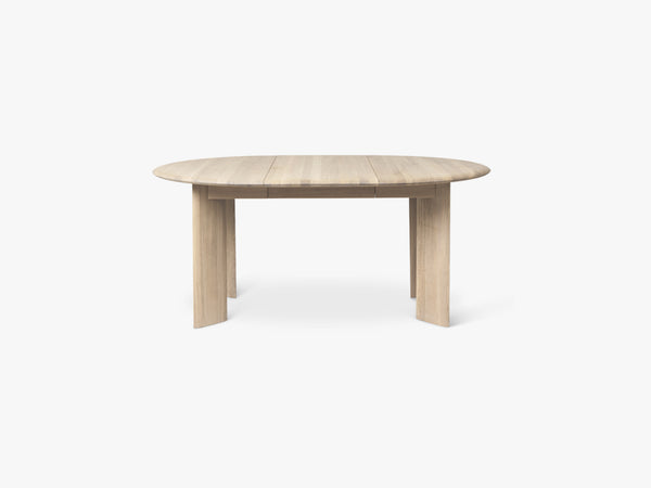 Bevel Table Extendable x 1 - White Oiled fra Ferm Living