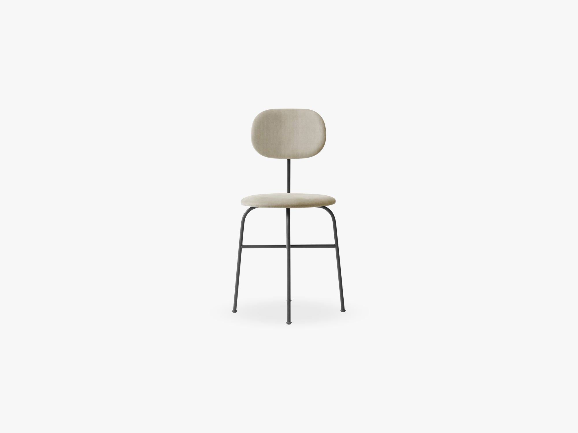 Afteroom Dining Chair Plus, Black/Savanna 202 fra Menu