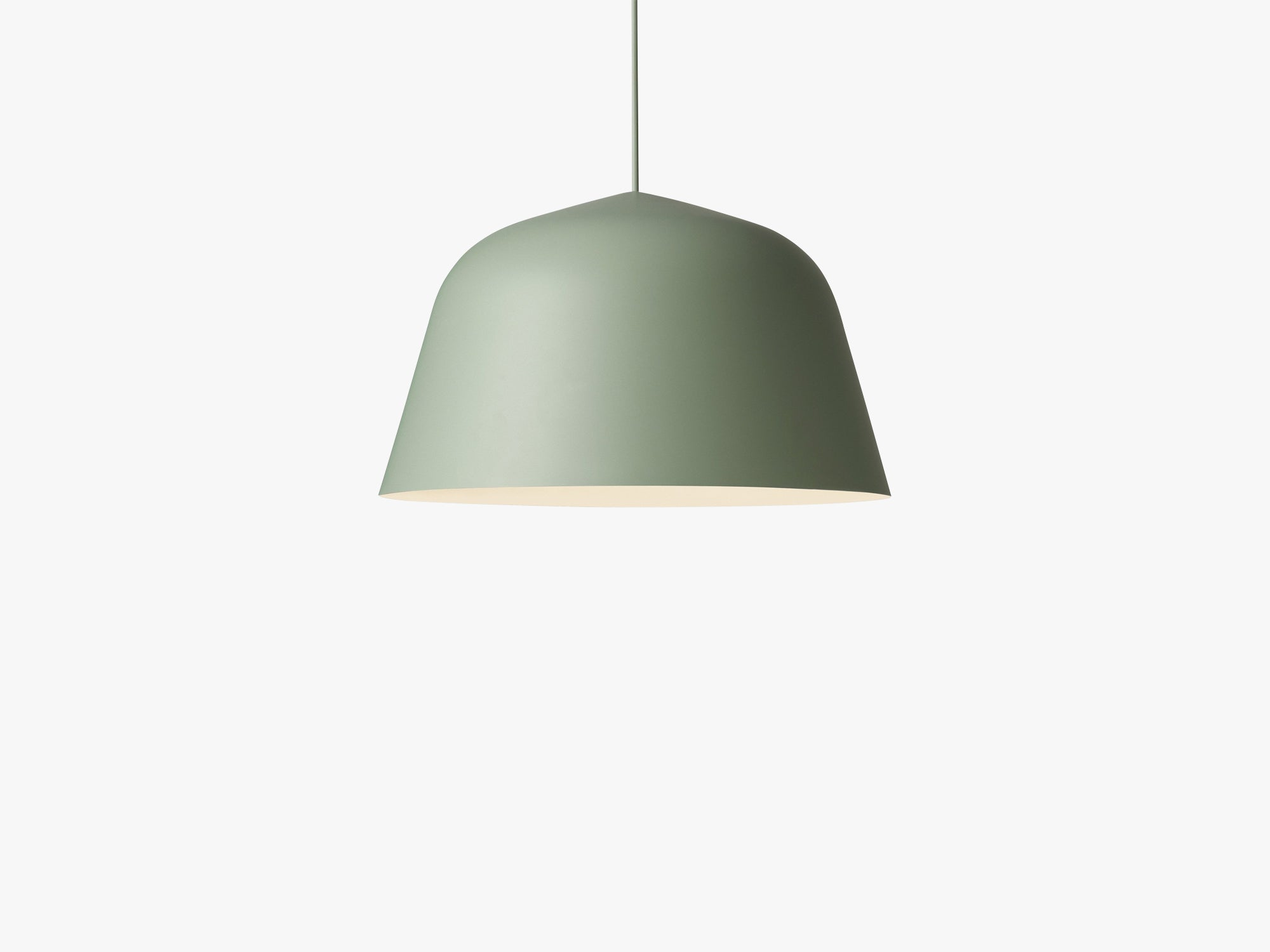 Ambit Pendant Lamp / Ø 40 / Ø 40, Dusty Green fra Muuto