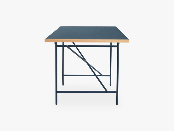 Eiermann Frame 1 Desk, Navy Blue fra Egon Eiermann