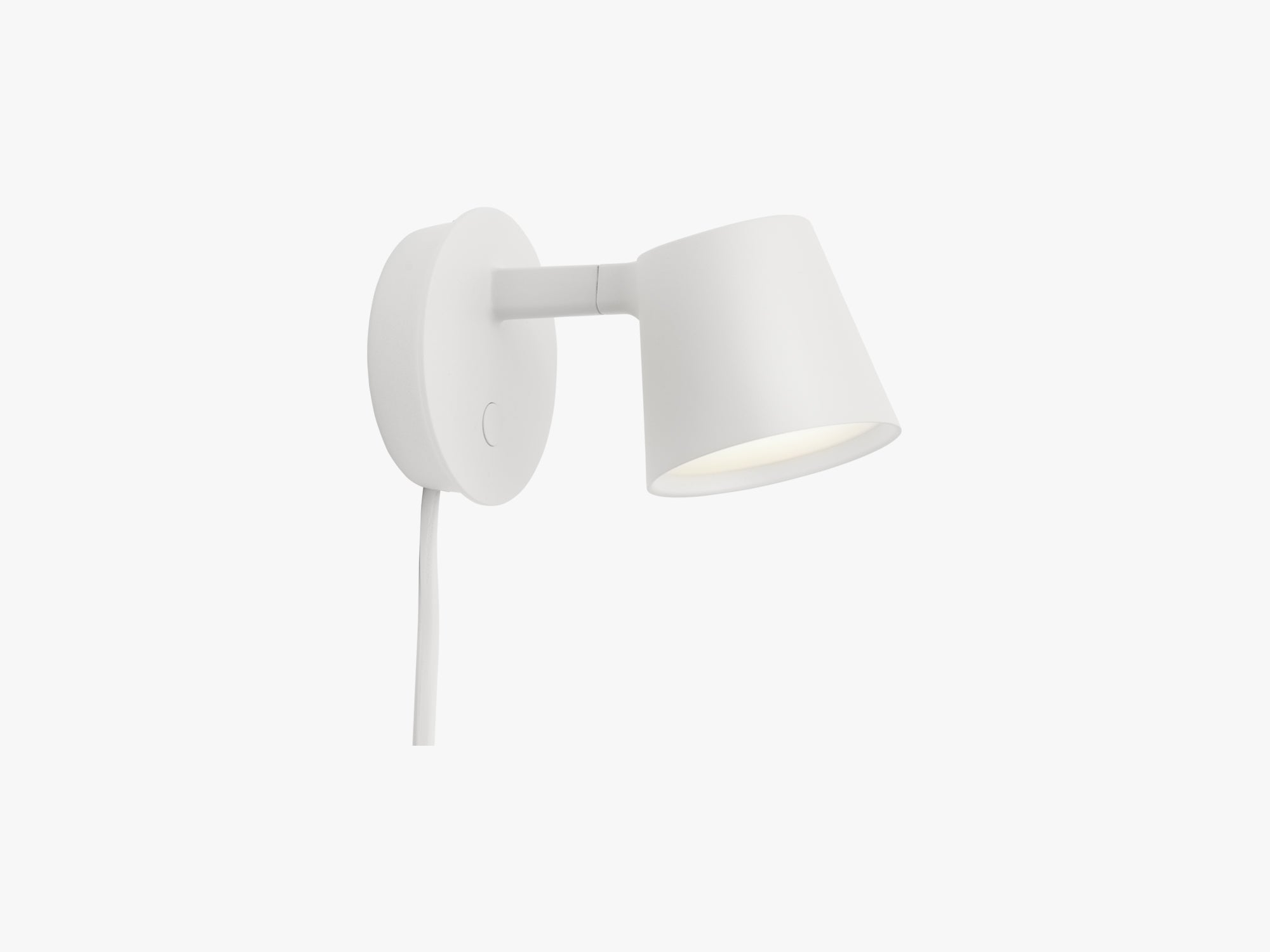 Tip Wall Lamp, White fra Muuto