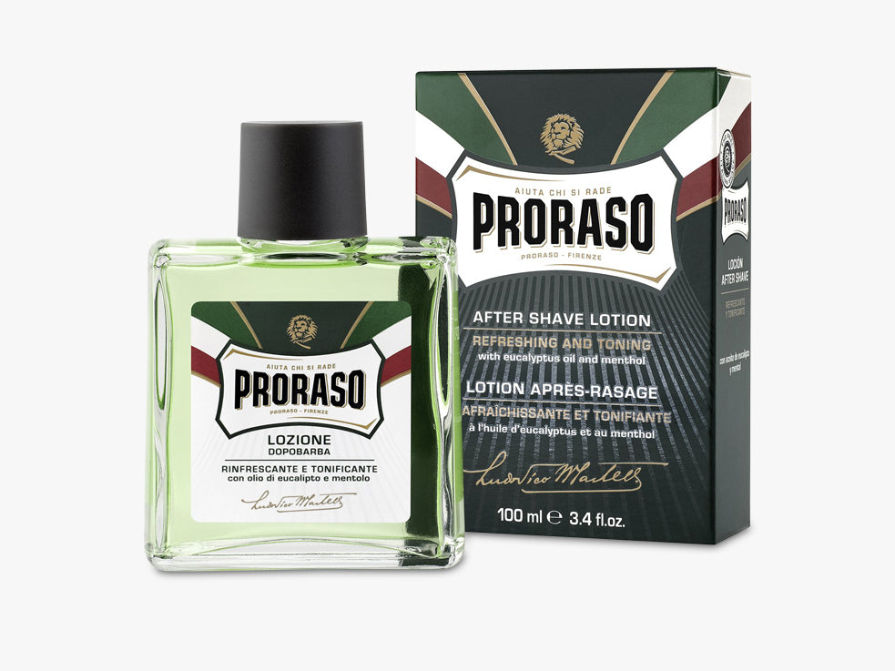 After shave Lotion, Splash Refresh Eucalyptus 100ML fra Proraso