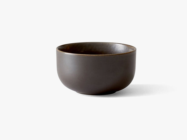New Norm Bowl, Ø10 cm, Dark Glazed fra Menu