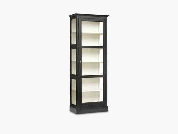 CLASSIC cabinet, single, black fra Nordal